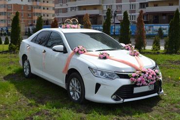 Оформление на машину на свадьбу