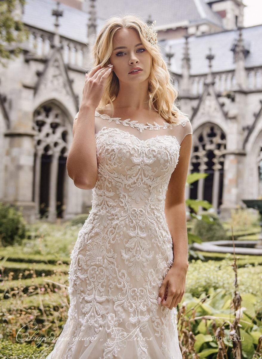 7719f16a66a12de Свадебное платье D534 - купить в салоне Ангел - Краснодар